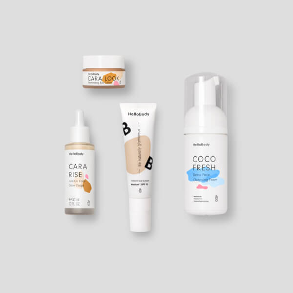 Hb It Natural Glow Routine 1020x1020px