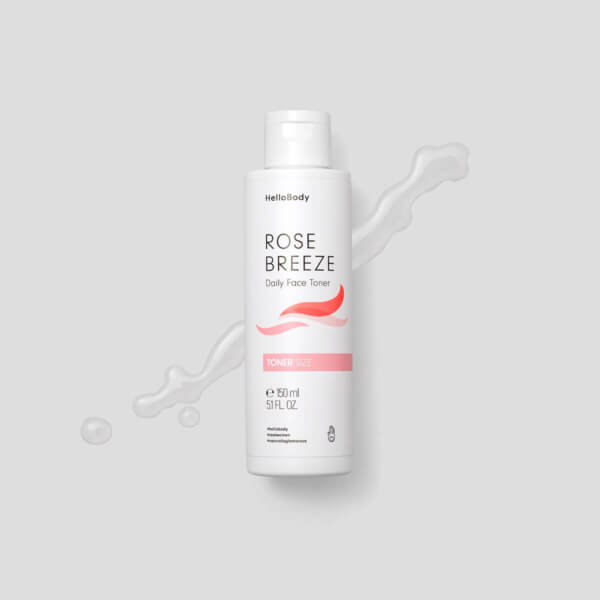 Rose Breeze Lozione Viso Tonificante